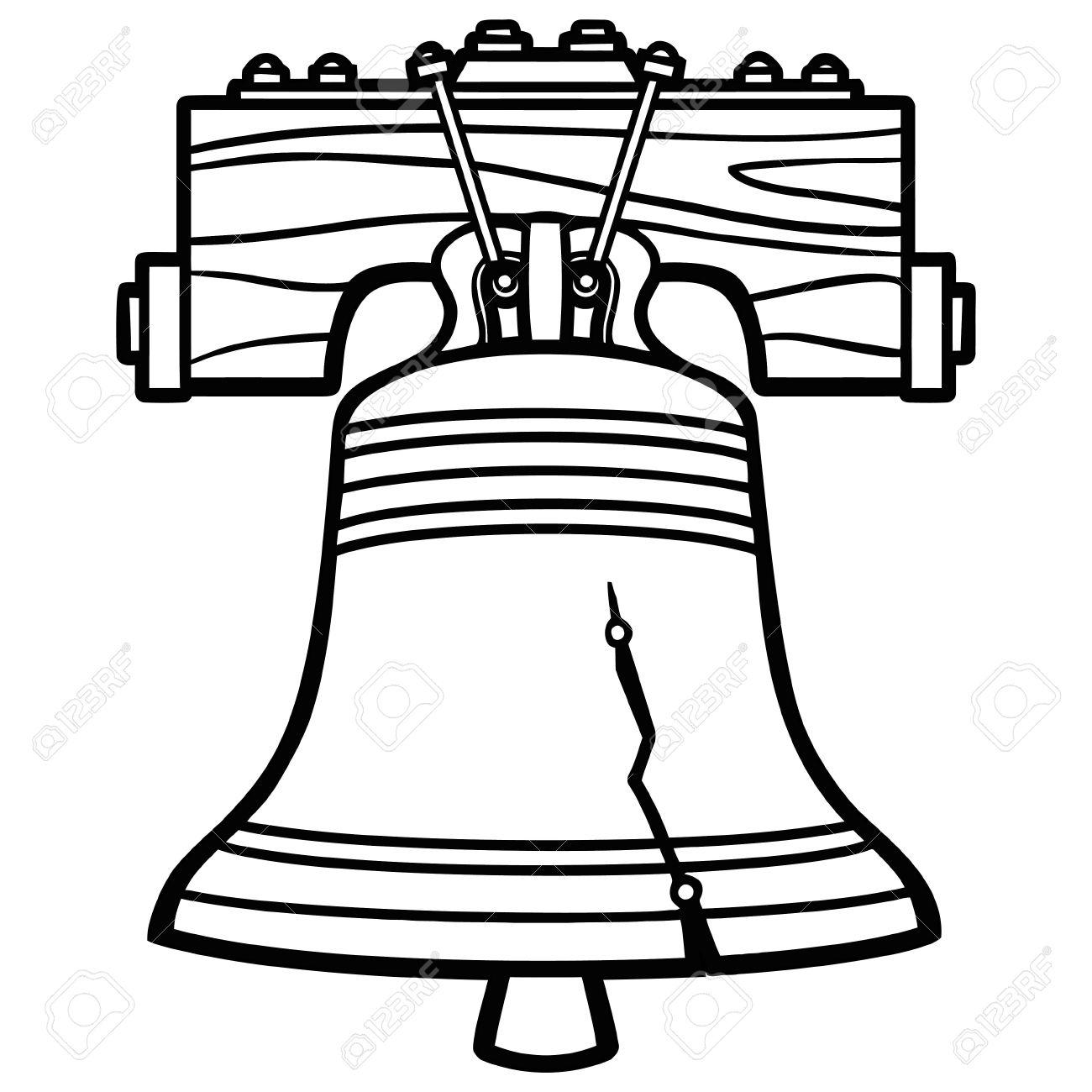1300x1300 Bell Clipart Liberty Bell
