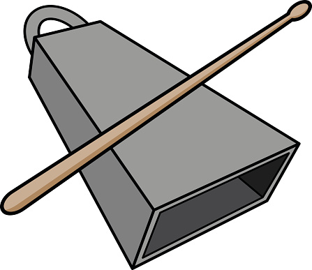 447x387 Cow Bell Clipart