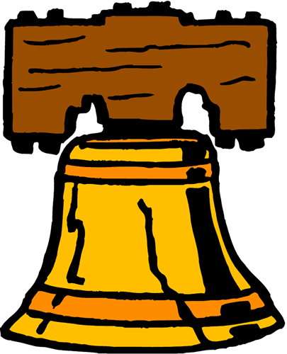 405x500 America Clipart Bell