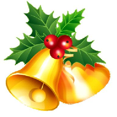384x384 Graphics For Christmas Bells Clip Art Graphics