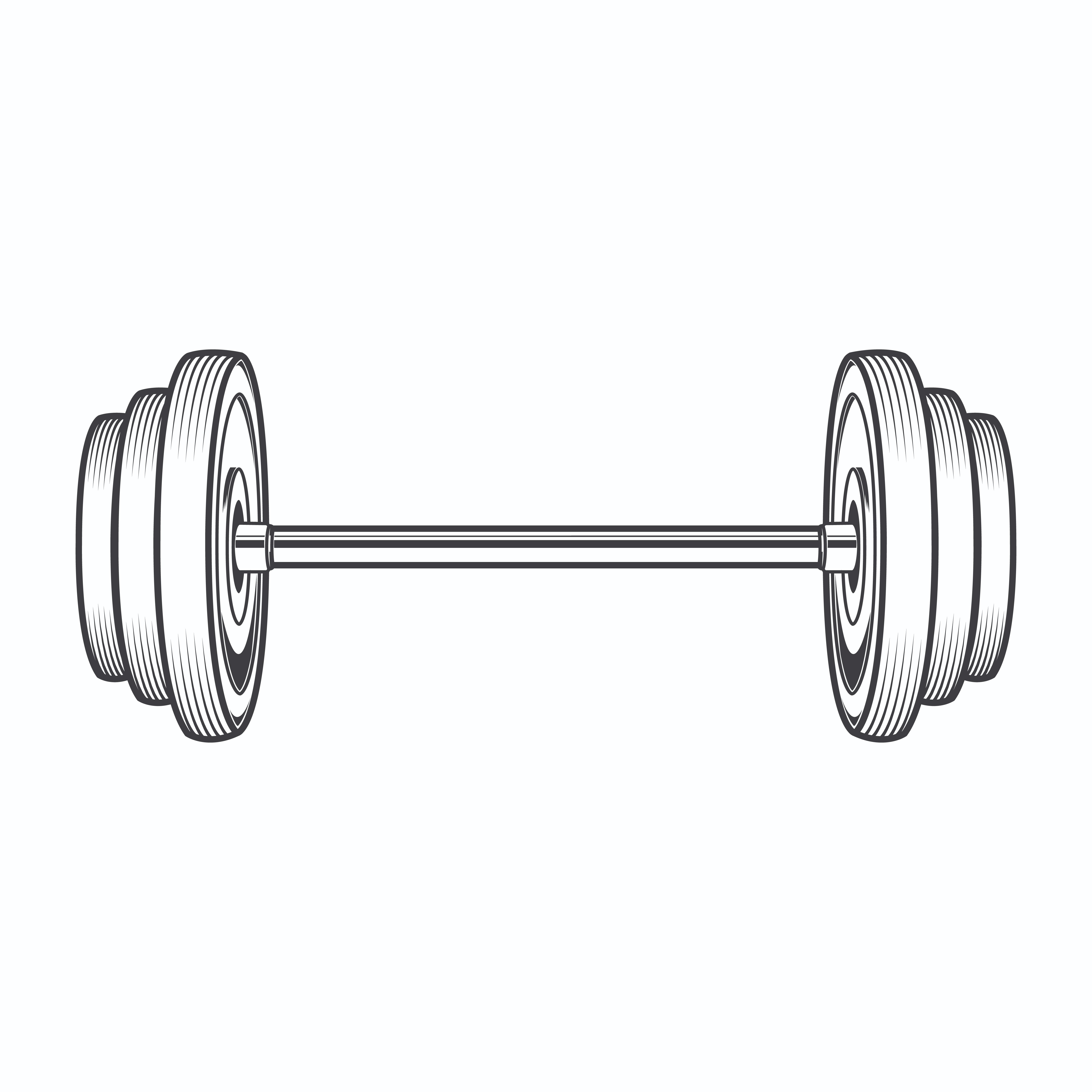 Bent Barbell Clipart | Free download best Bent Barbell ...
