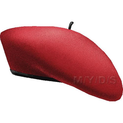 4007b563fdac8 500x500 Beret Hat Cliparts 179485