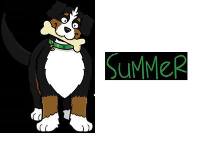 395x291 Bernese Mountain Dog Clipart Png Cartoon