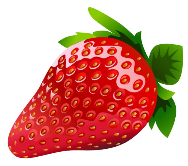 640x565 Berry Clipart Red Fruit