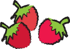 300x208 Berries Clipart Image