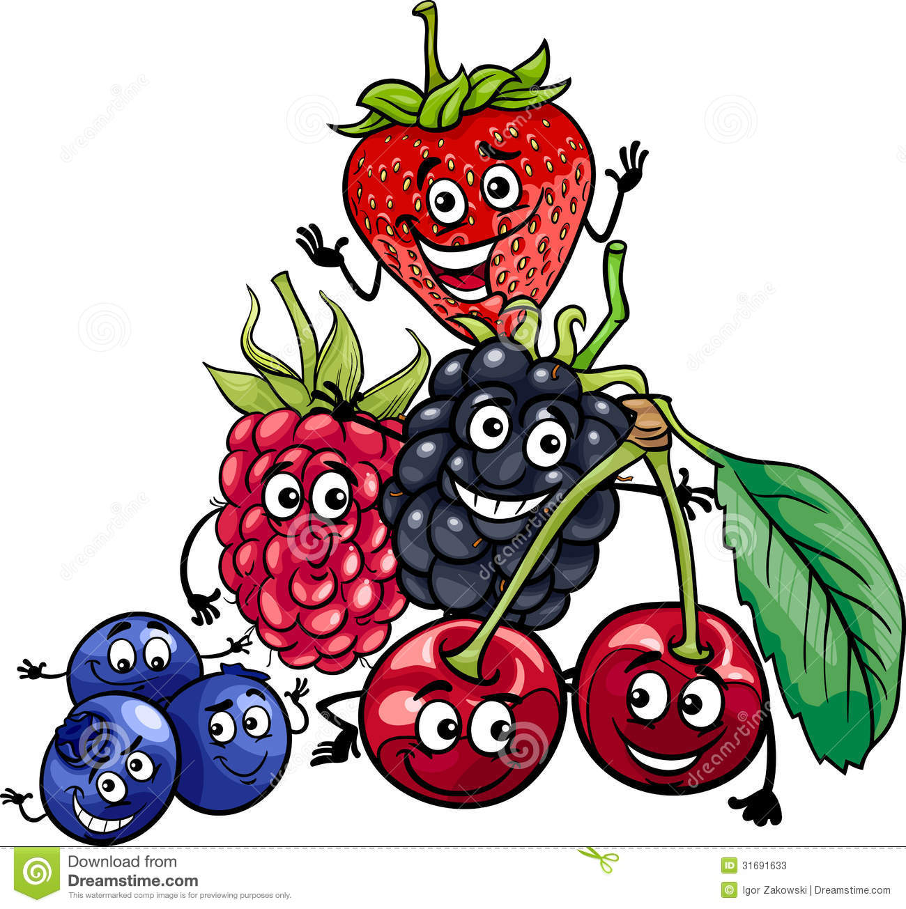 1300x1305 Berry Clipart Animated