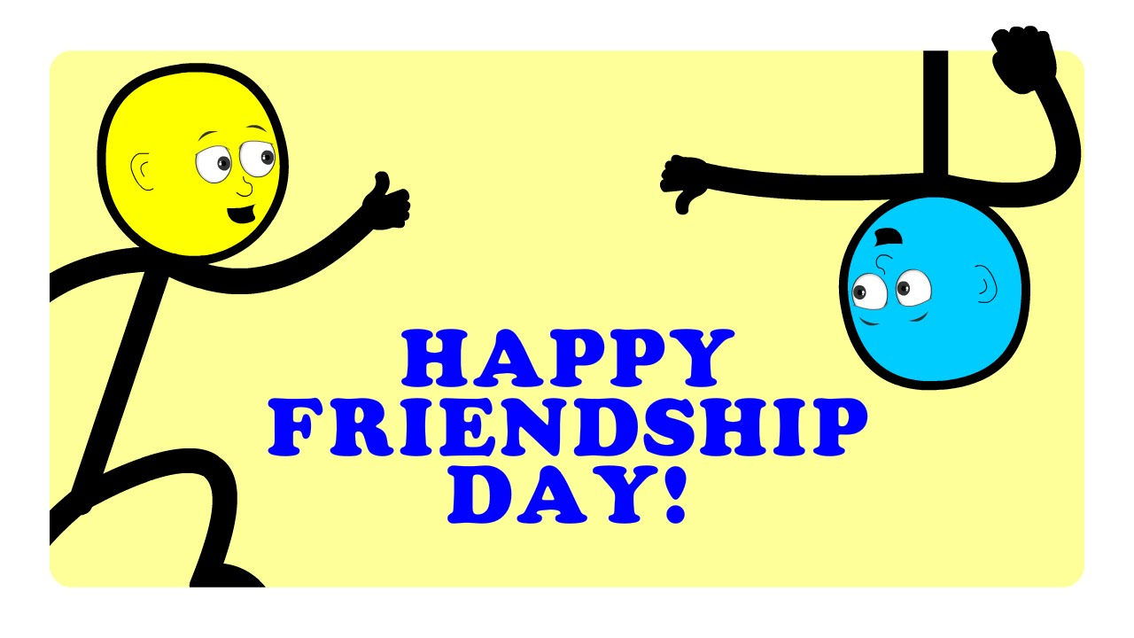 1280x720 Happy Friendship Day 2016 Special, Animated Cartoon, Friendship Is