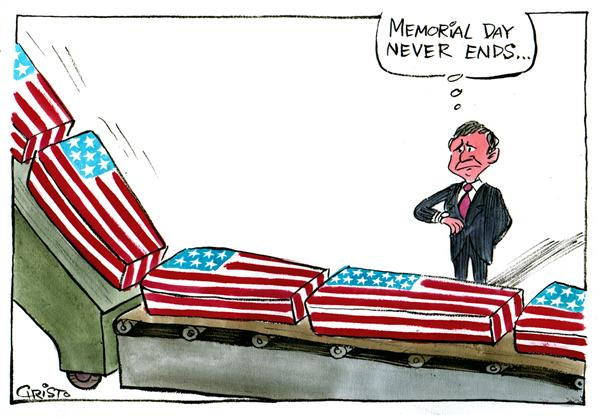 600x419 Memorial Day Cartoon Clipart