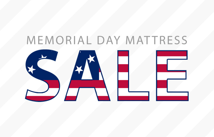 700x450 Save On A Memory Foam Mattress With Memorial Day Sales
