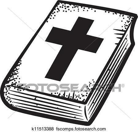 450x431 Clip Art Of Bible Doodle K11513388