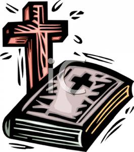 265x300 Image A Wooden Cross And The Holy Bible