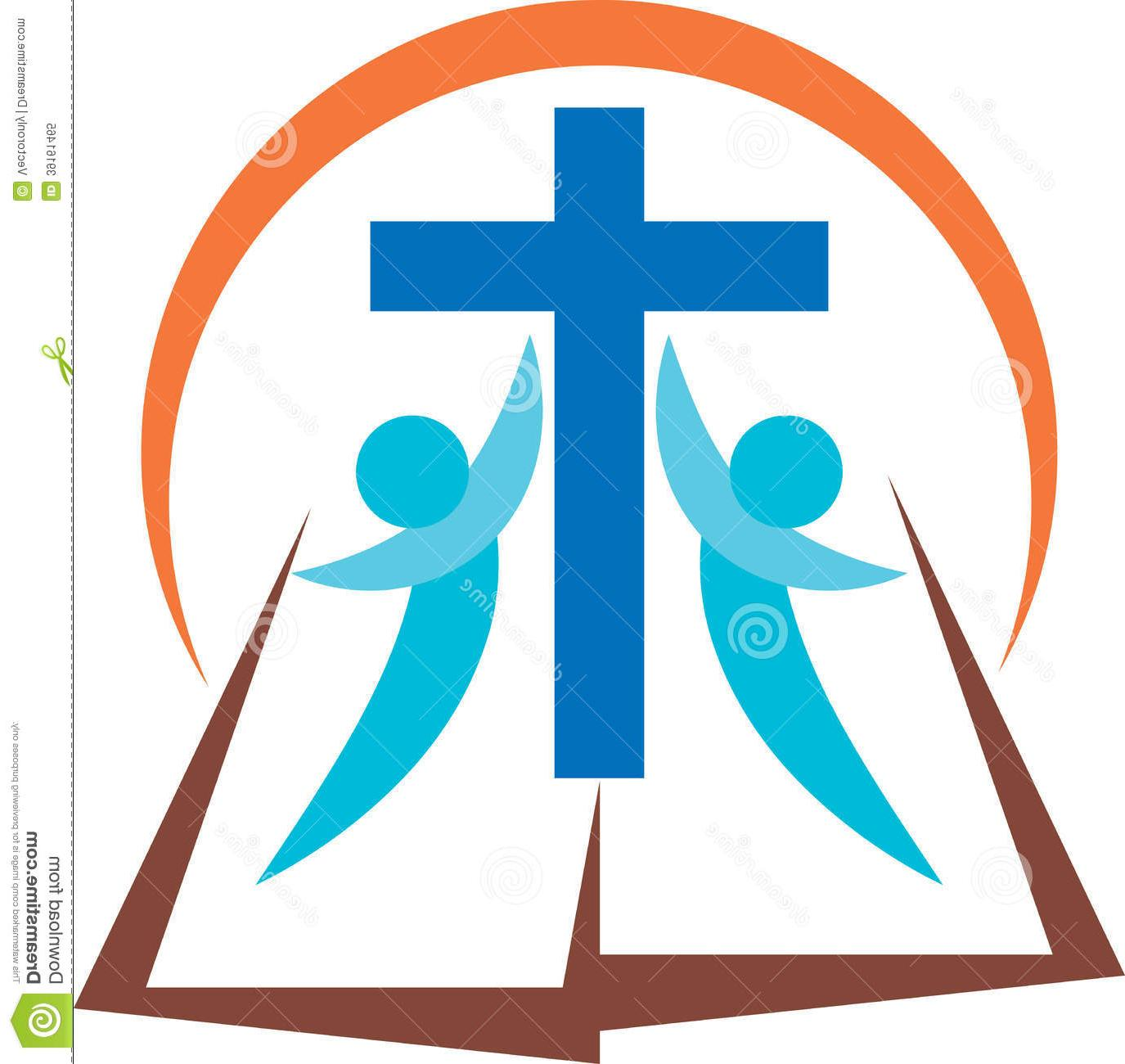 1375x1300 Vector Christian Cross And Bible Vector Free Vector Art, Images