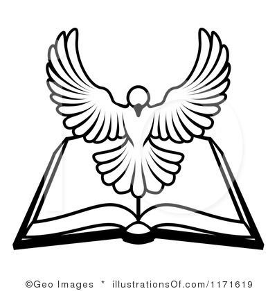 400x420 White Dove Clipart Bible