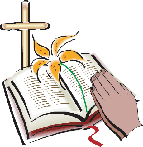 459x474 Clipart Bible And Cross
