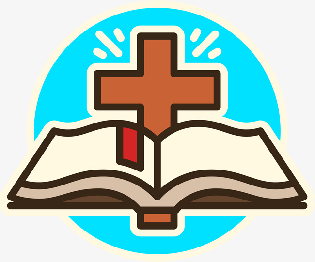 650x541 Cross And Bible Designed Logo, Book, Book, Logo Png And Vector