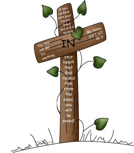 450x514 God's Cross Cliparts 216323