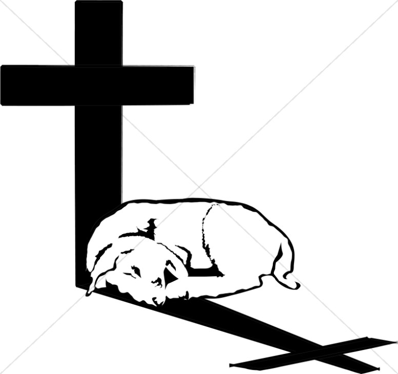 776x730 Lamb In Cross Shadow Cross Clipart