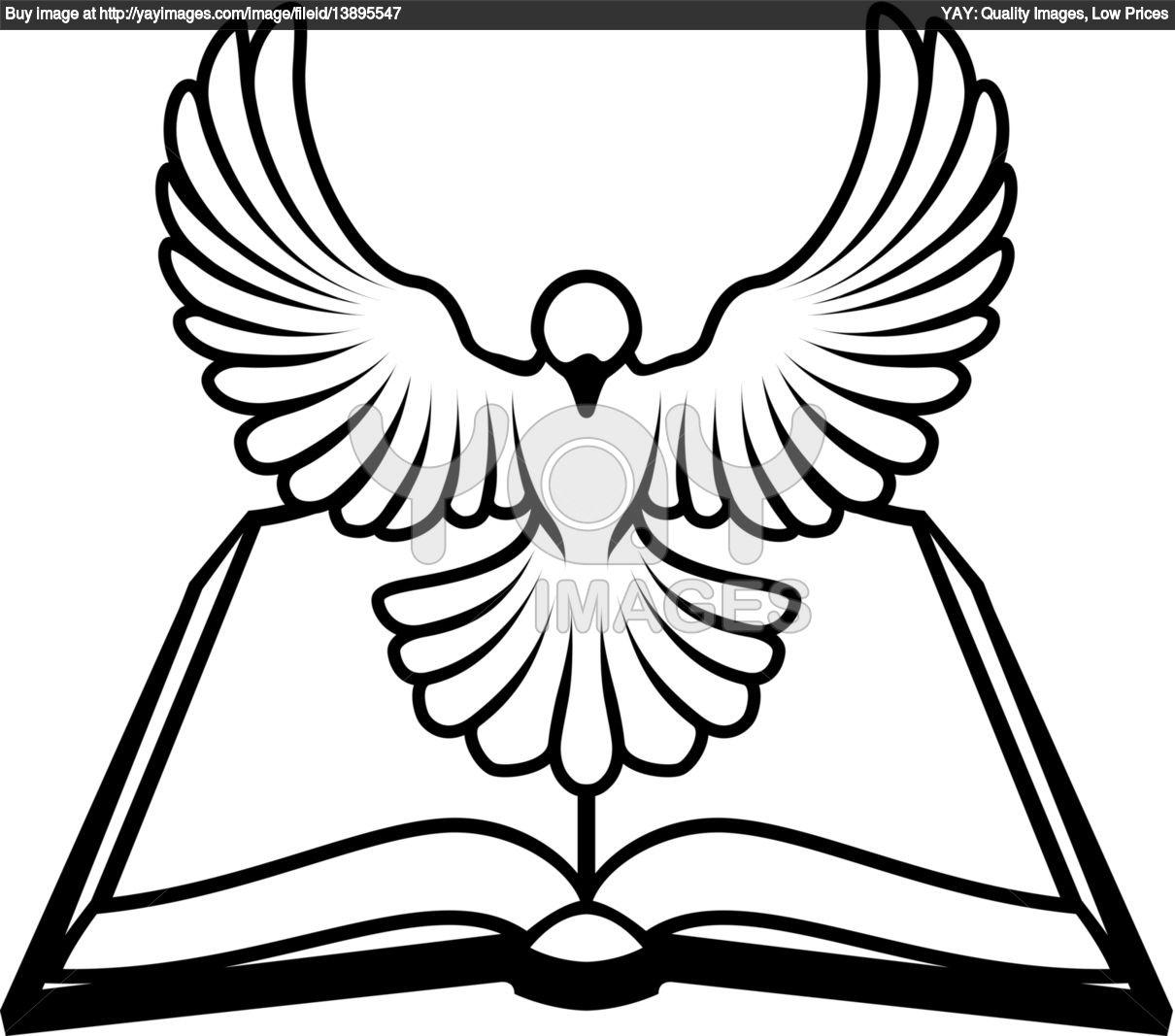 1210x1067 Bible And Dove Clipart
