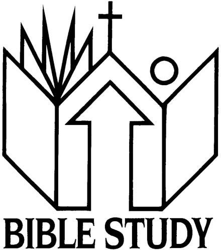 440x496 Men's Bible Study Clipart