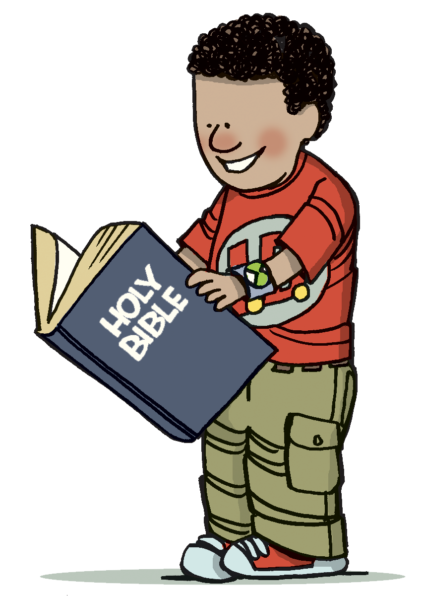 853x1200 Read Bible Clipart