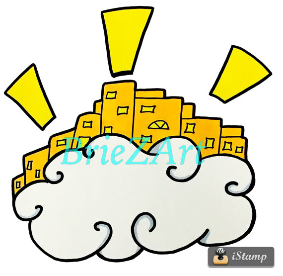 570x555 Bible Clipart City Of Heaven Lesson Visuals