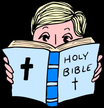 350x365 Reading Bible Clipart 101 Clip Art