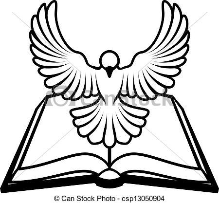 450x417 Dove Clipart Bible