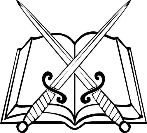 504x458 Sword And Bible Clip Art