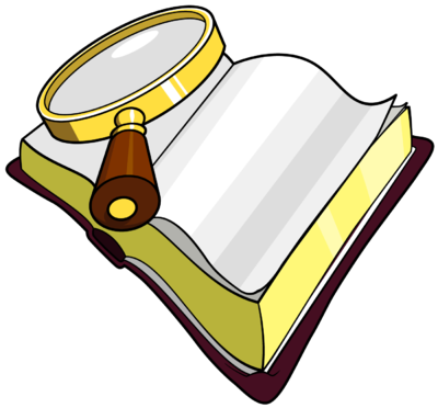 400x372 Image Magnifying Glass Over Bible With The Words Seek Lord Clipart