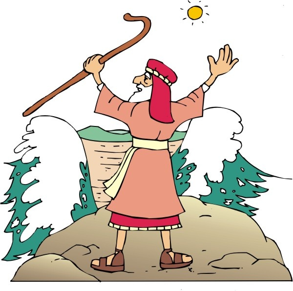 600x596 Staff Clipart Moses