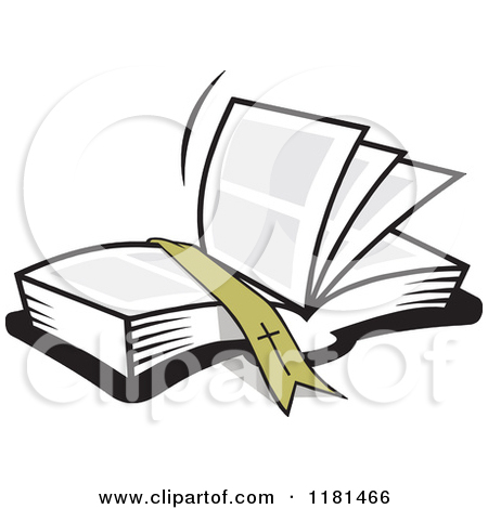 450x470 Clipart Images Open Bible With Cross And Lily
