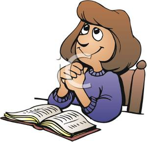 300x291 Bible Character Clipart Praying