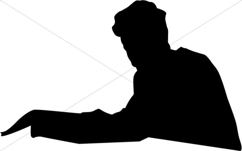 776x483 People Silhouette Clipart