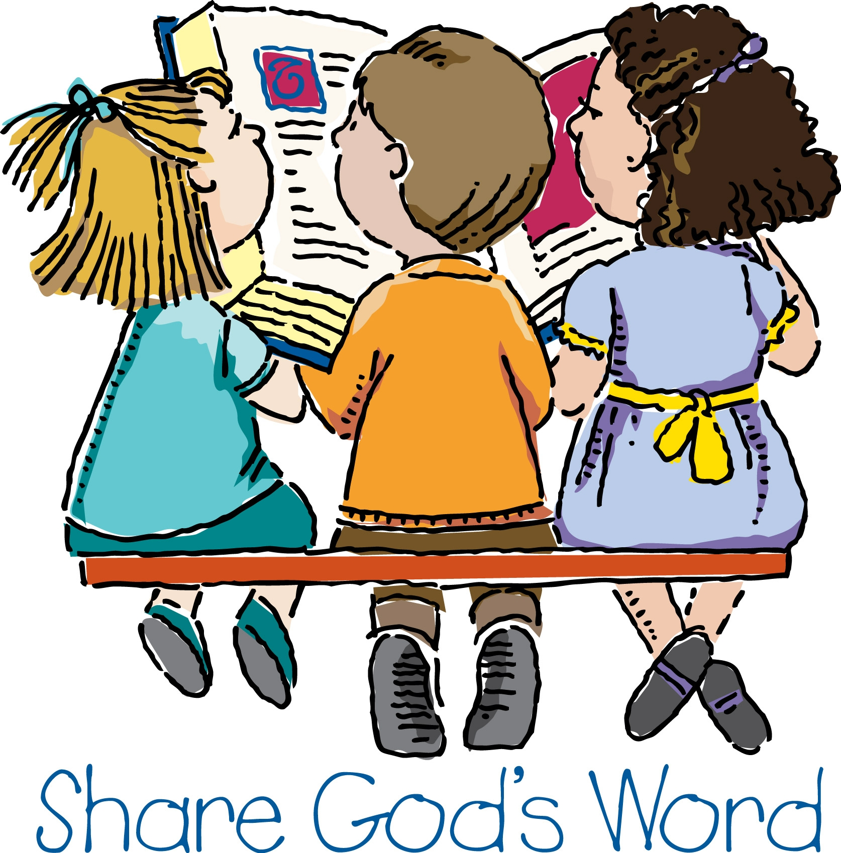 1674x1699 Preschool Bible Clipart