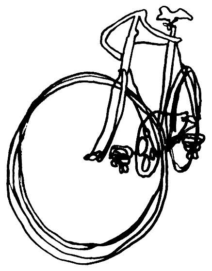 Bicycle Line Art