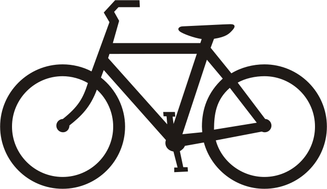 653x379 Image Of Clip Art Bicycle