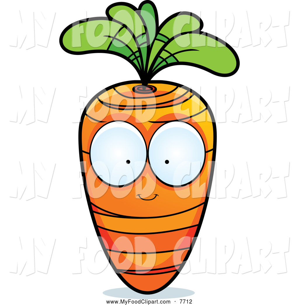 1024x1044 Food Clip Art Of A Carrot Character With Big Eyes By Cory Thoman