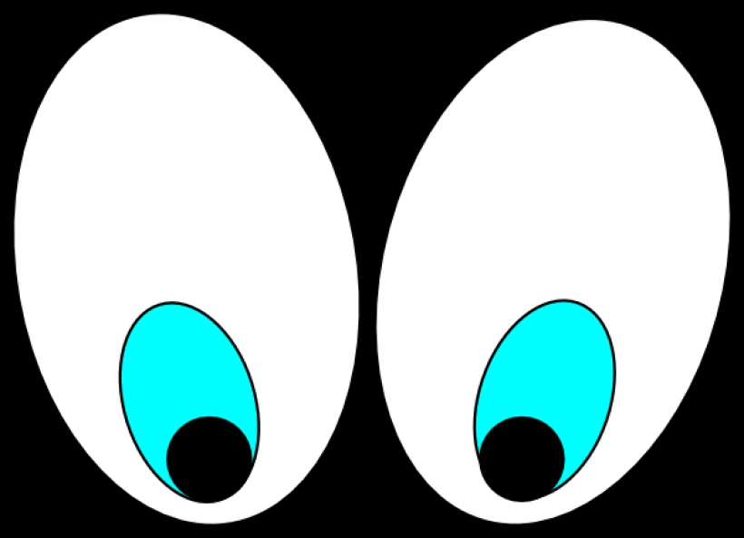 820x593 Eyes Looking Down Clipart Eyes Looking Down Clipart Cartoon