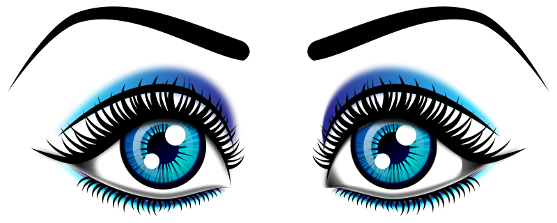 800x320 Big Eyes Clipart