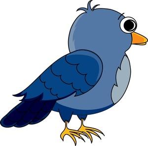 300x295 Bird Clipart Cartoon Bird Clipart Image