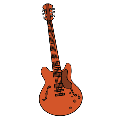 400x400 How To Draw A Guitar Really Easy Drawing Tutorial