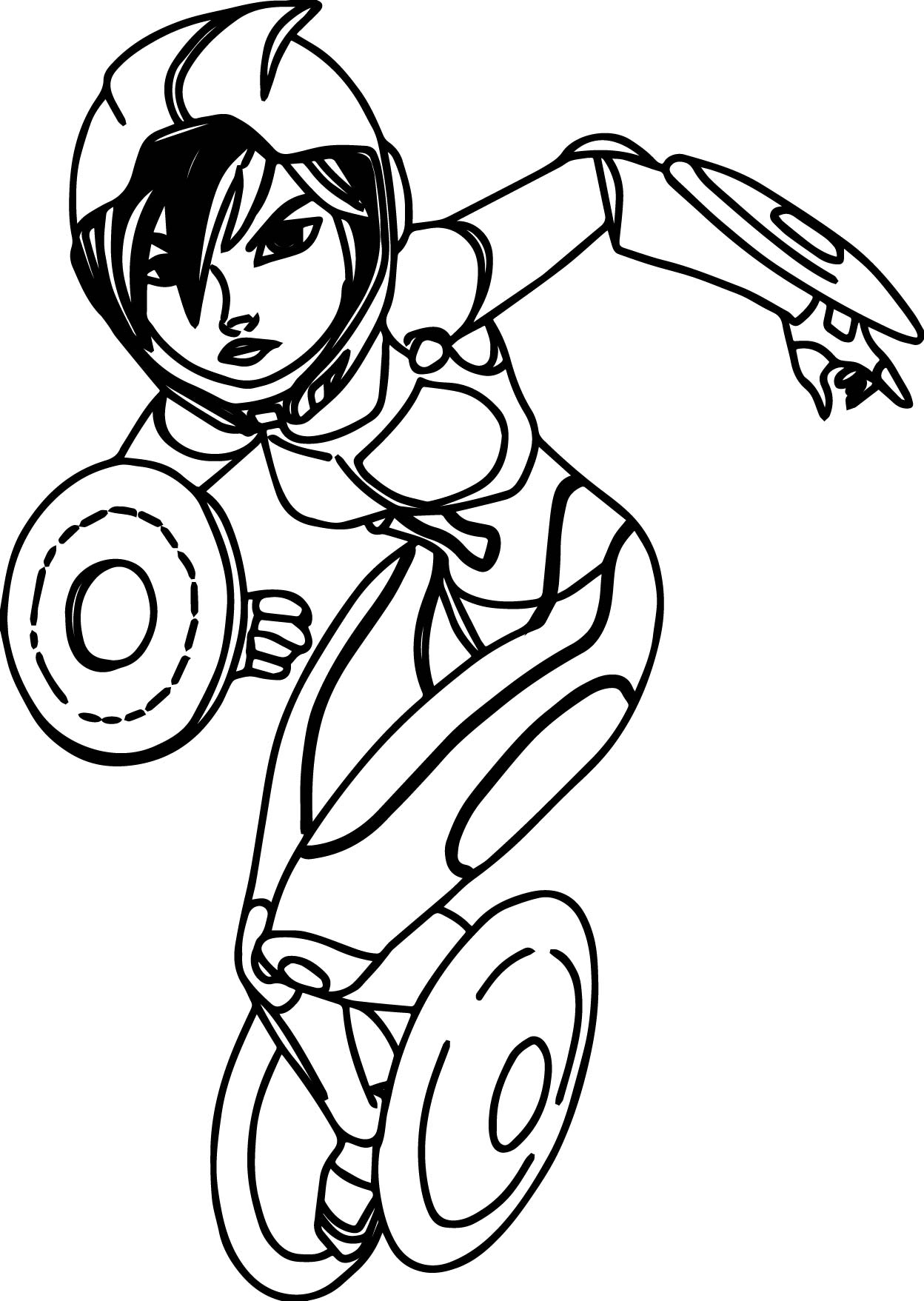 1248x1757 Big Hero 6 Characters Gogo Tomago Coloring Page Wecoloringpage