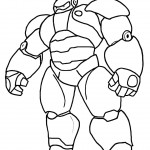 150x150 Big Hero 6 Coloring Pages