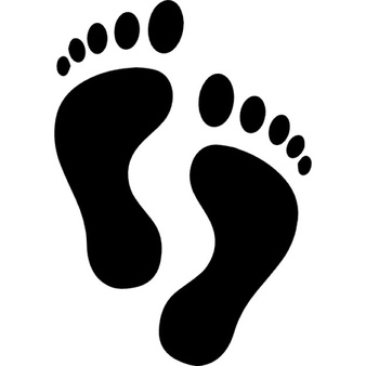 338x338 Big Foot Clipart Human Leg