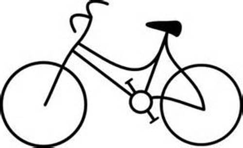 500x305 Bicycle Bike Clipart Black And White Free Clipart Images