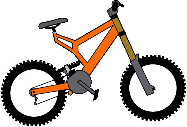 600x408 Bike Clip Art