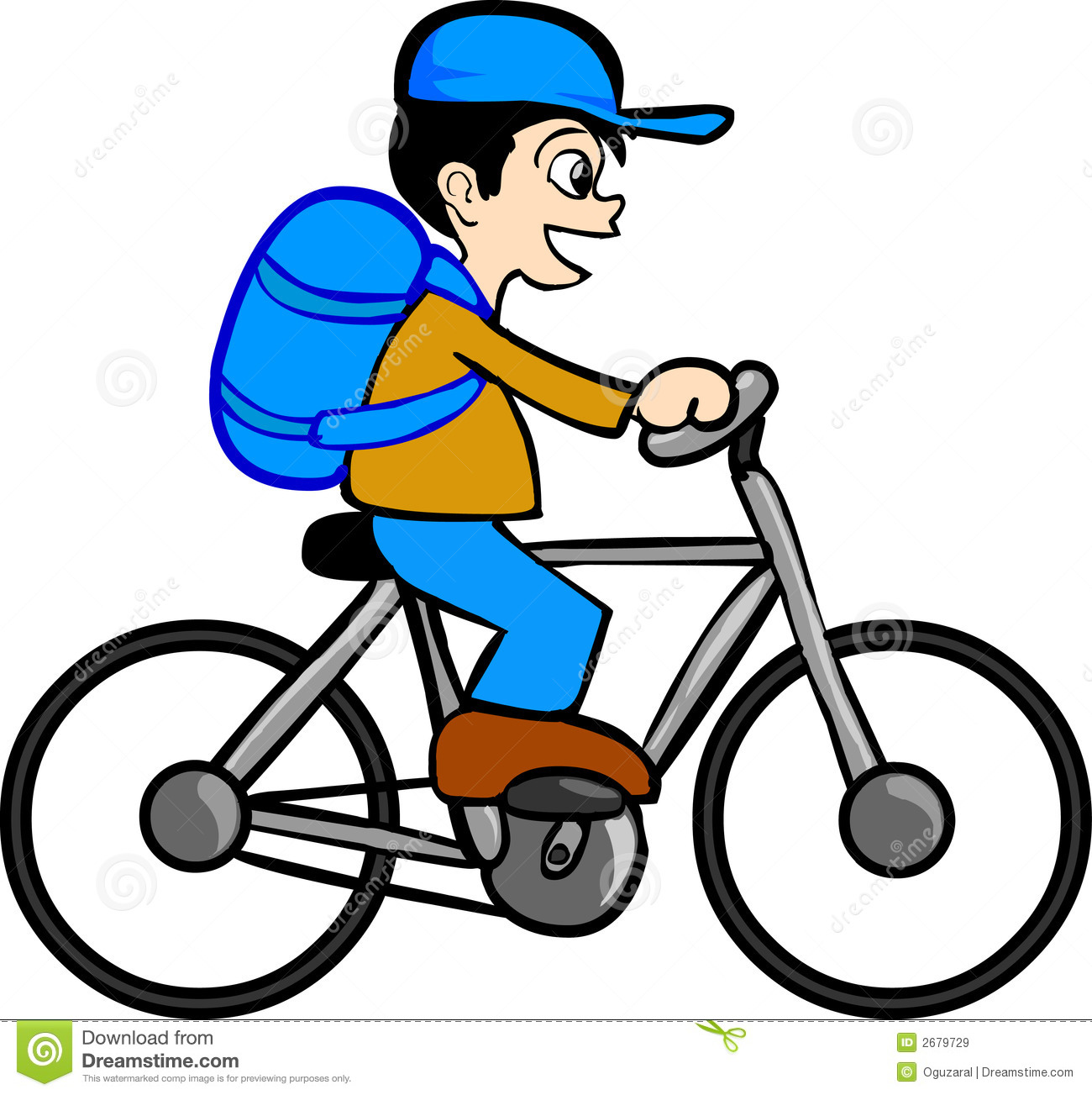 1300x1303 Kids Bicycle Clip Art Riding Bike