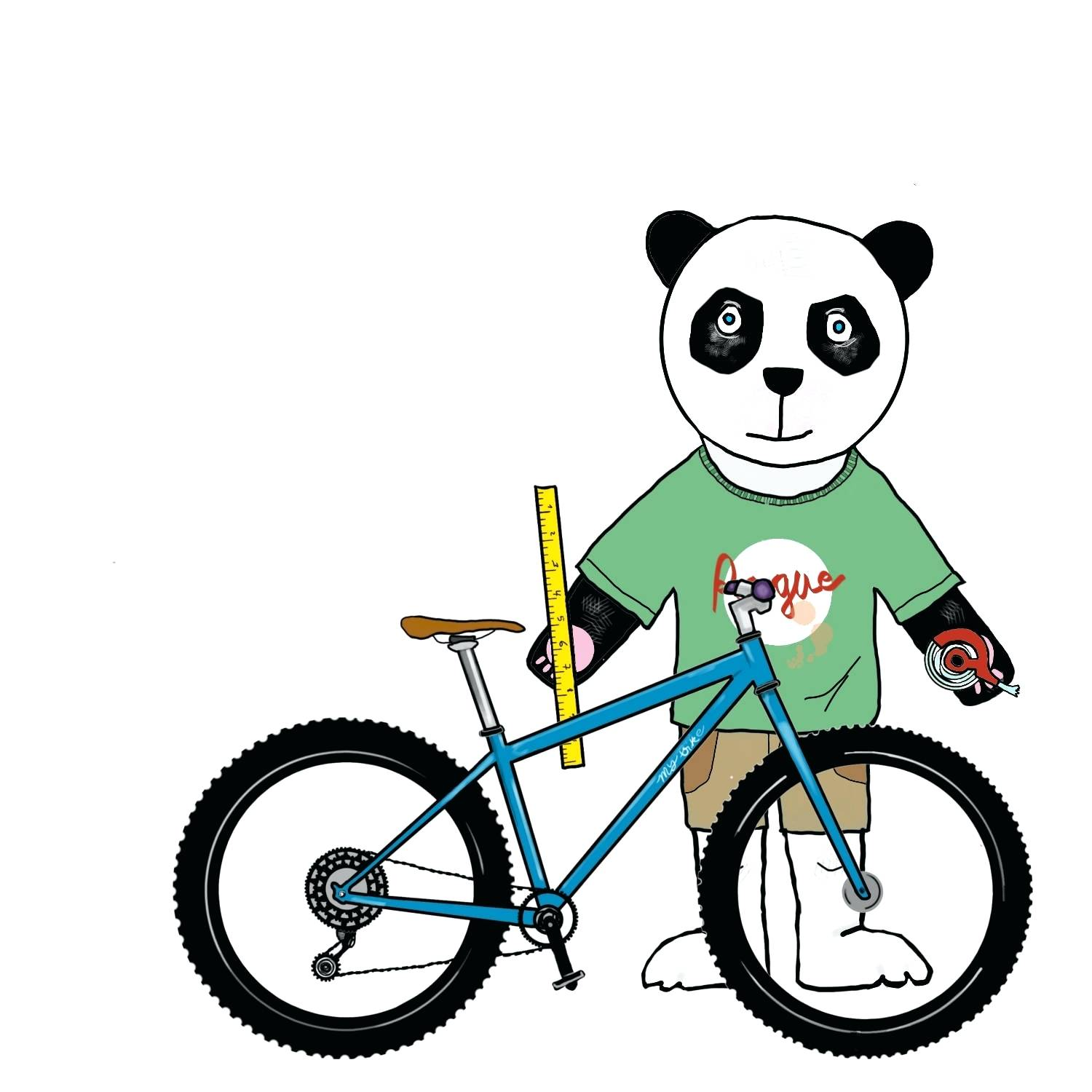 1500x1500 Mountain Bike Riding Cartoon