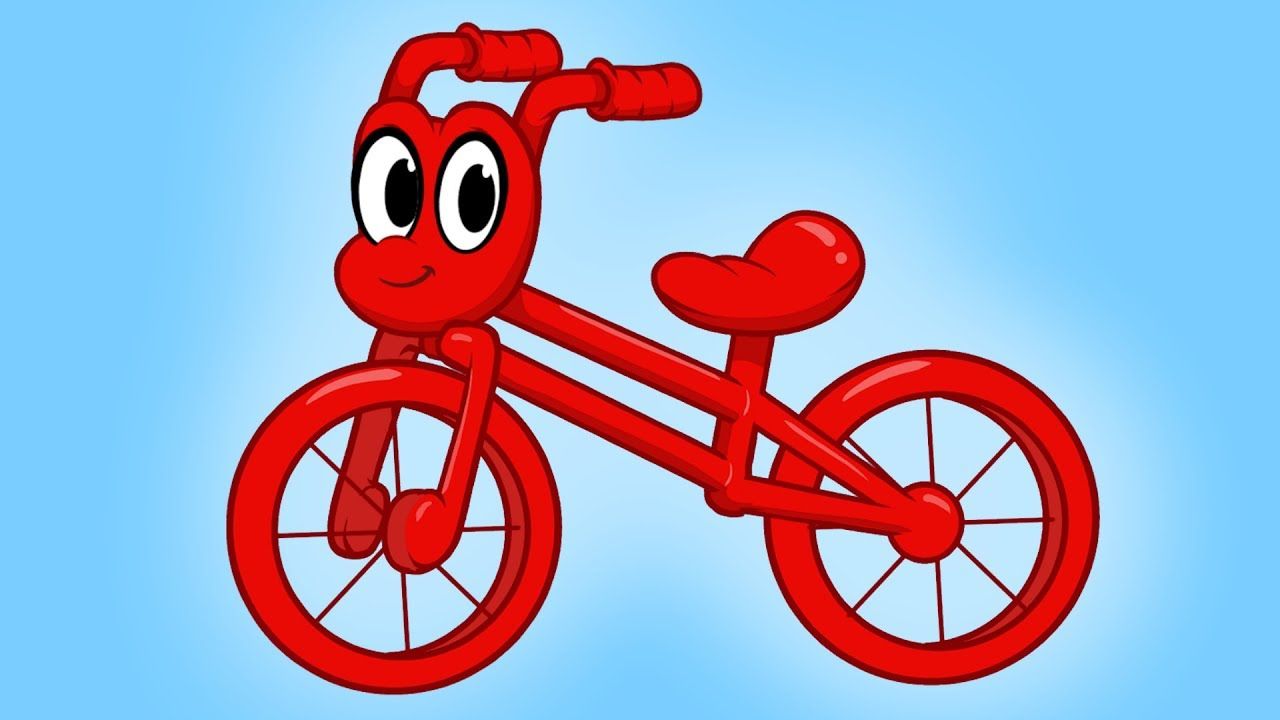 1280x720 My Red Bicycle
