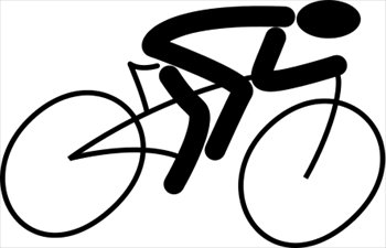 350x225 Free bicycle clip art pictures 7